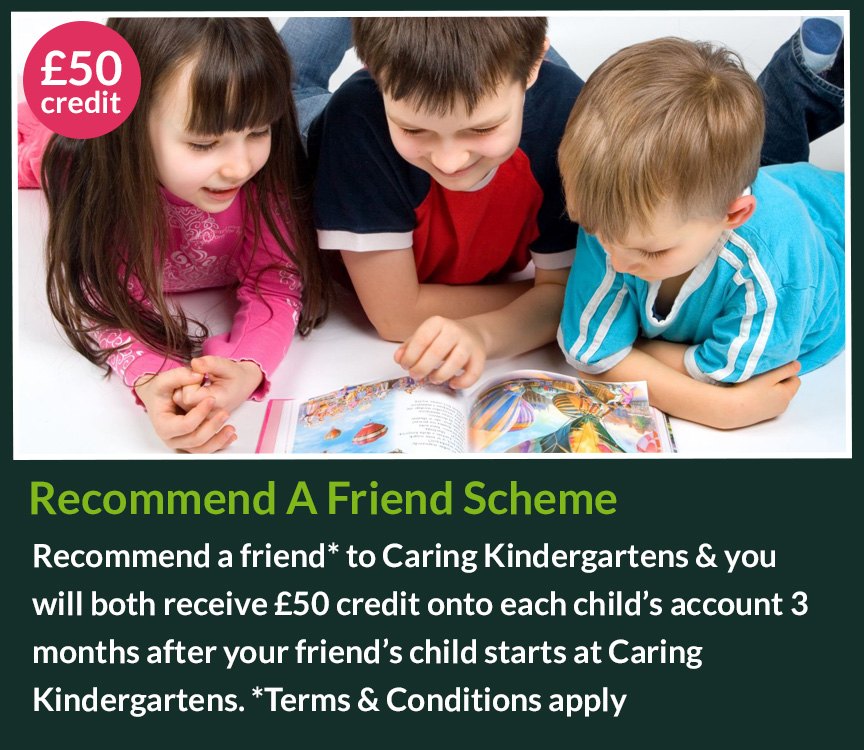 recommend a friend nursery scheme