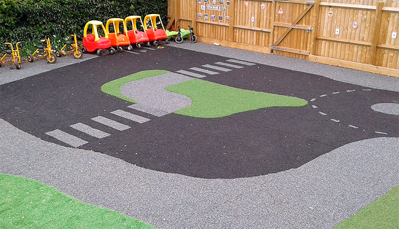 Caring Kindergartens Daventry Outside Space