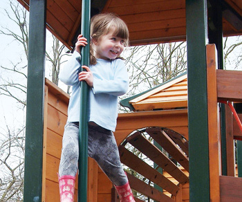 Caring Kindergartens outdoor play Moulton Park