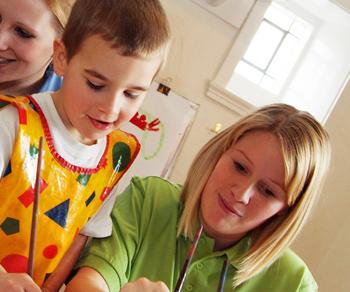Caring Kindergartens nursery staff